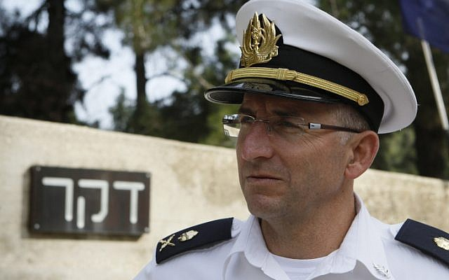 IDF Naval commander Maj. Gen. Ram Rothberg (photo credit: Uri Lenz/Flash90)