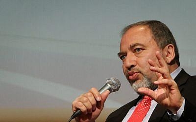 Foreign Minister Avigdor Lieberman (photo credit: Miriam Alster/Flash90)