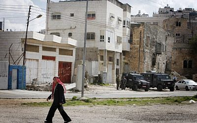 The controversial Beit Hamachpela in Hebron (photo credit: Miriam Alster/Flash90)