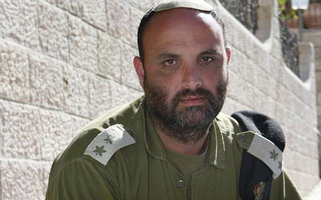 Shalom Eisner outside his Jerusalem home (photo credit: Uri Lenz/Flash90)