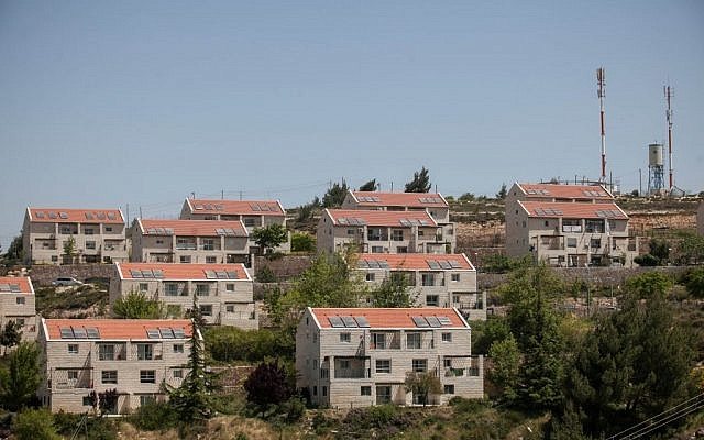 Beit El's Ulpana neighborhood is at the heart of the controversy surrounding illegal West Bank outposts. (photo credit: Noam Moskowitz/Flash90)