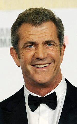 Mel Gibson in a 2011 file photo. The future of a film about the ancient Jewish warrior Judah Maccabee, is uncertain after a disagreement between producer Gibson and screenwriter Joe Eszterhas. (photo credit: AP Photo/Chris Pizzello, File)