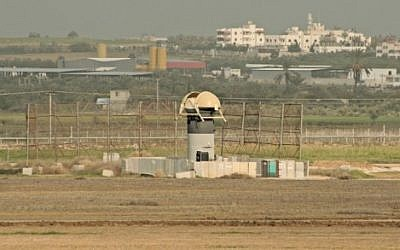 Gaza border (photo credit: IDF Spokesperson's website)