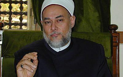 Egypt's outgoing Grand Mufti Ali Gomaa (photo credit: public domain via Wikimedia Commons)