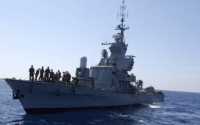 An IDF missile boat (photo credit: Abir Sultan/Flash90)