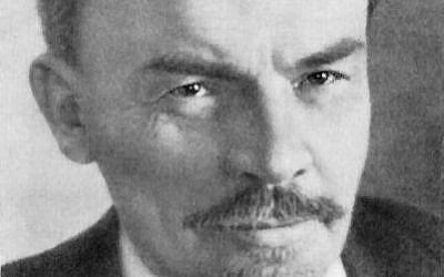 Vladimir Lenin (photo credit: de:Moses Solomonowitsch Nappelbaum, Wikimedia Commons)