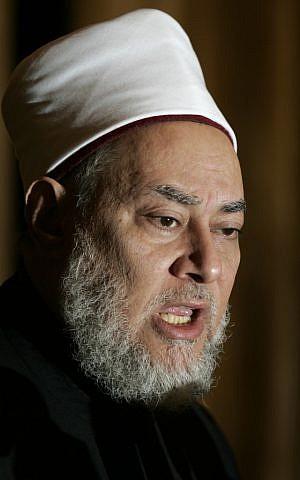 Grand Mufti Ali Gomaa (photo credit: AP/Ben Curtis)