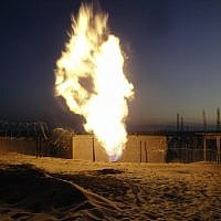 Illustrative: A gas pipeline in the Sinai Peninsula sabotaged by a jihadist group in 2012. (AP/File)