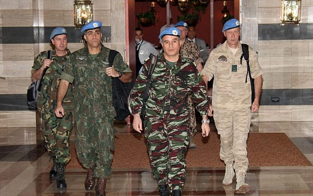UN observers arrived in Damascus on Monday (photo credit: Bassem Tellawi/AP)