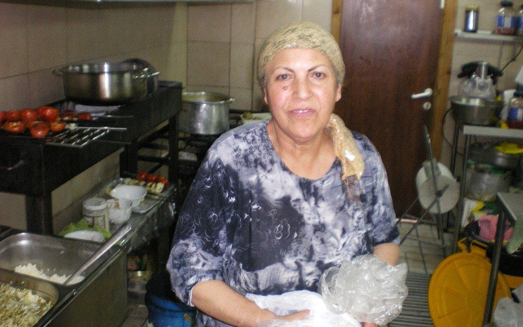 Molok Shamshiri, an Iranian-Israeli restaurant cook, left Iran in 1964. (Ben Lynfield)