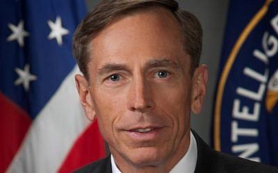 CIA head David Petraeus (photo credit: CIA/Wikipedia)