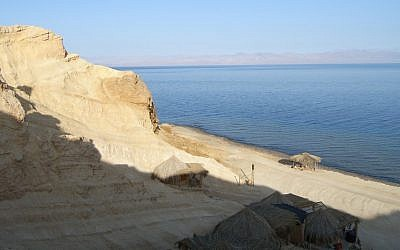 The Sinai Peninsula (photo credit: Michal Shmulovich/Times of Israel)