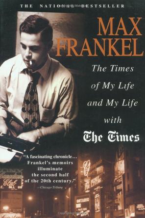 Max Frankel memoir (photo credit: book cover)