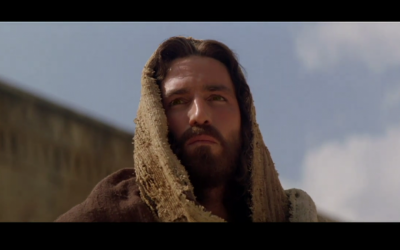 """""""The Passion of the Christ,"""" another Mel Gibson film (photo credit: screen capture, YouTube)"""