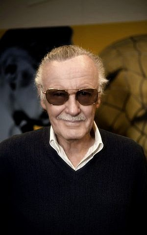 Stan Lee, still a marvel at 89. (photo credit: Courtesy)