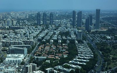 Aerial view of Tel Aviv (photo credit: Kobi Gideon/Flash90)