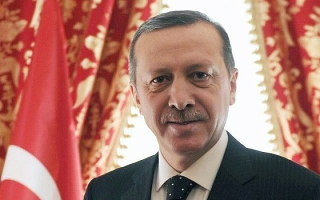 Turkey's Prime Minister Recep Tayyip Erdogan (photo credit: AP Photo/Yasin Bulbul)