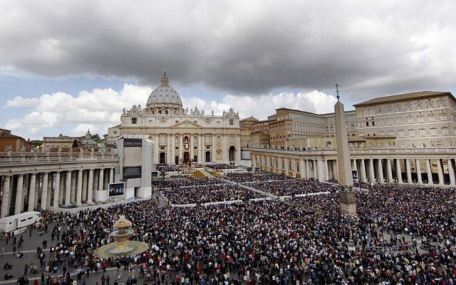 Illustrative photo of the Vatican (photo credit: AP/Pier Paolo Cito)