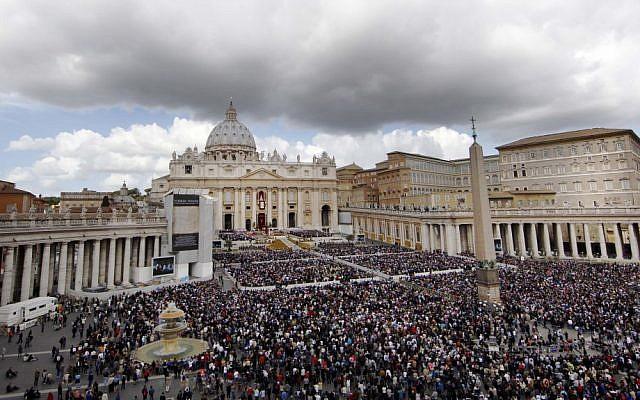 Illustrative photo of the Vatican (photo credit: AP/Pier Paolo Cito)