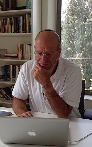 Avraham Burg (photo credit: Raphael Ahren/The Times of Israel)