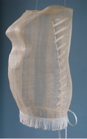 The Torah scroll corset (Courtesy Jaqueline Nicholls)