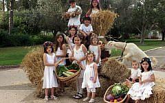 Children from Kibbutz Gilad (photo credit: Herzl Shapira/Flash90)