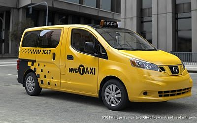 A taxi in New York City (photo credit: Courtesy City of New York)