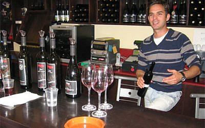 Roy Yitzhaki of the Tulip Winery (Courtesy Tulip Winery)