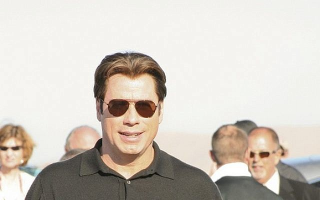 John Travolta. (photo credit: CC BY-SA Ack Ook, Flickr)