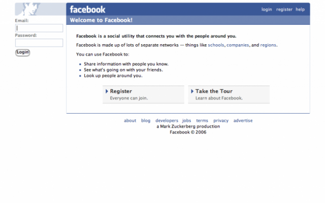 Facebook login page (photo credit: CC BY Jim Whimpey/Flickr)