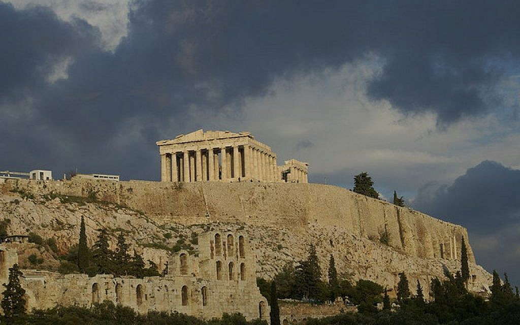 The Parthenon in Athens, Greece. (photo credit: CC BY-SA Charles P., Flickr)