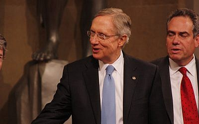 US Senator Minority Leader Harry Reid (photo credit: CC-BY ryanjreilly, Flickr)