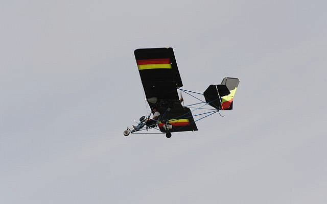 Ultralight aircraft can land on short makeshift airstrips. (illustrative photo credit: CC BY cwwycoff1/Flickr)