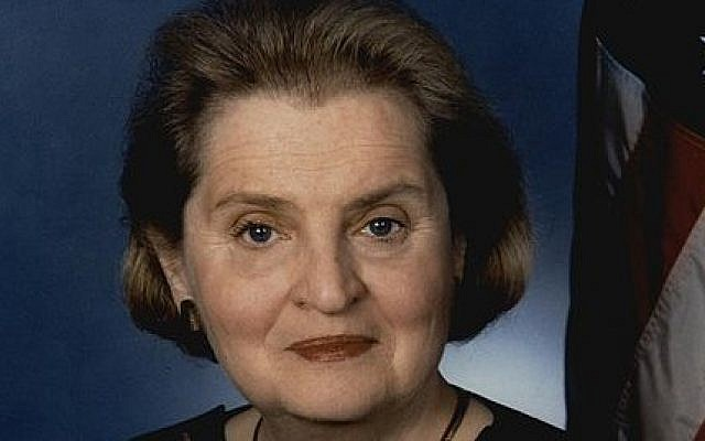 Madeleine Albright (photo credit: Wikimedia Commons)