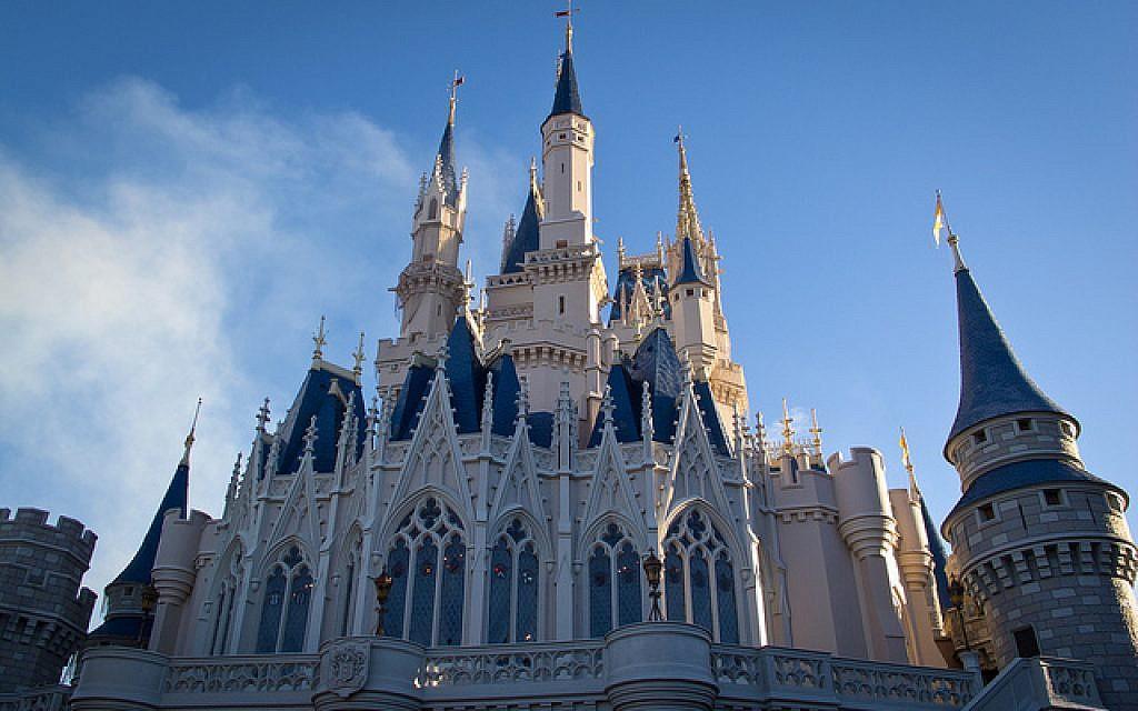 Cinderella's castle at Disney World in Orlando, Florida (photo credit: CC BY Anna Fox, Flickr)