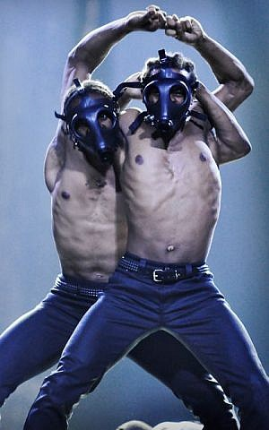 Channeling Israel's security concerns? (Courtesy Madonna Facebook page)