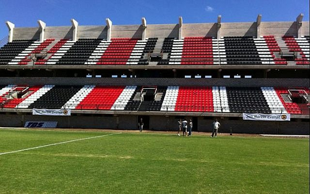 The home stadium of the Chacarita Juniors (photo credit: CC-BY Daniel Ivoskus/Flickr)