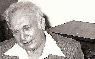 Former president Ephraim Katzir (photo credit: CC-BY-SA Imrich, Wikimedia Commons)
