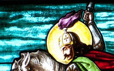 Illustrative image of Saint George. (photo credit: CC BY quinet, Flickr)