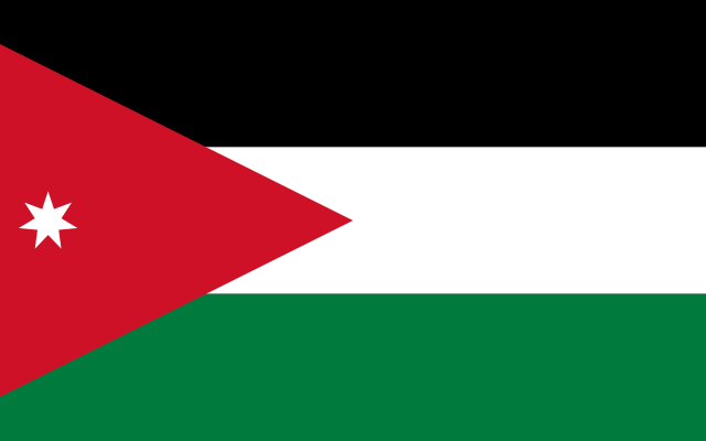 Jordanian flag (photo credit: Wikimedia Commons)