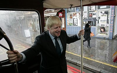 London Mayor Boris Johnson (photo credit: AP/Sang Tan)