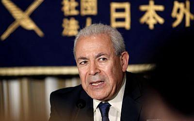 Burhan Ghalioun  (photo credit: AP/Shuji Kajiyama)