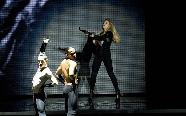 Madonna in concert Thursday night. (photo credit: AP/Ariel Schalit)