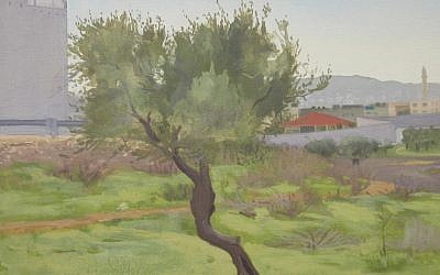 Bethlehem, 2012, oil on canvas, 14 in. x 17.5 in. (Courtesy Abraham Storer)
