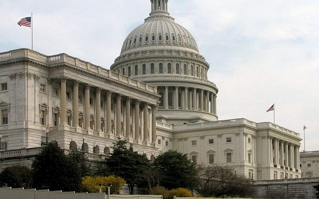 The Senate side of the United States Capitol building in Washington, DC (Wikimedia Commons/File)