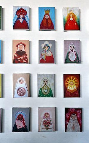 A matryoshka collective, by Dina Argov (photo credit: David Katz)
