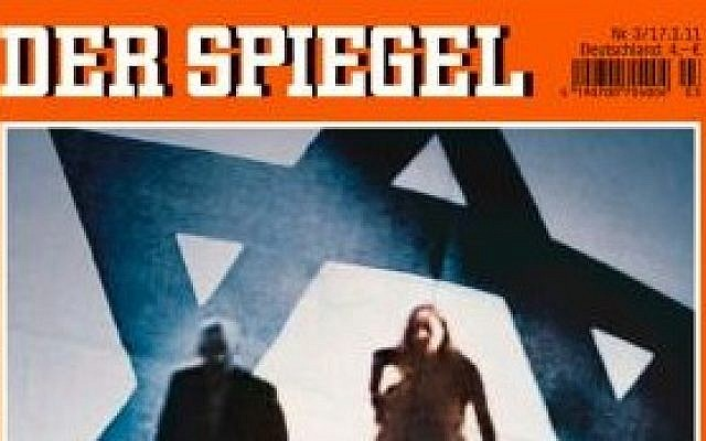A crop of a Der Spiegel cover. (photo credit: public domain)