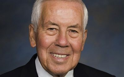 Senator Dick Lugar, who took office in 1977, is the first six-term senator to lose a seat in a primary election in 60 years. (photo credit: Courtesy)
