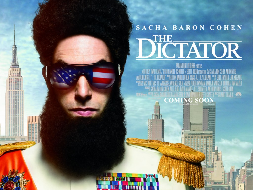 'The Dictator' opens in the US on May 16. (photo credit: Courtesy)
