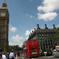 Big Ben and the Houses of Parliament in London. (Yossi Zamir/Flash90/File)